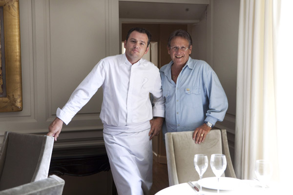 Bruno Oger & Alain Angenost ©Maurice Rougemont