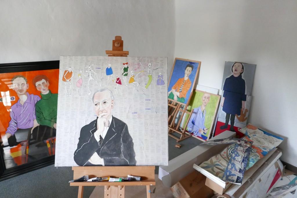 Dans l'atelier de Guy Untereiner ©GP