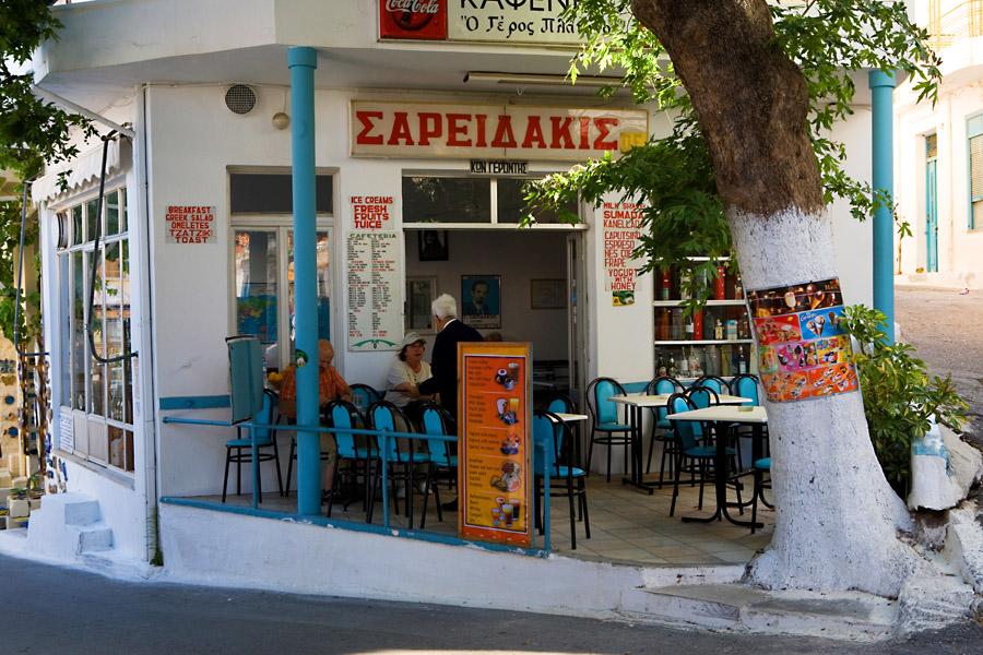 Le Café Platanos © Maurice Rougemont