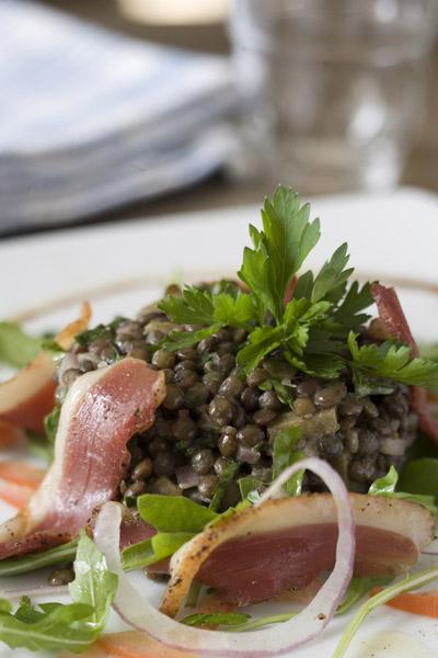 Salade de lentilles ©Maurice Rougemont