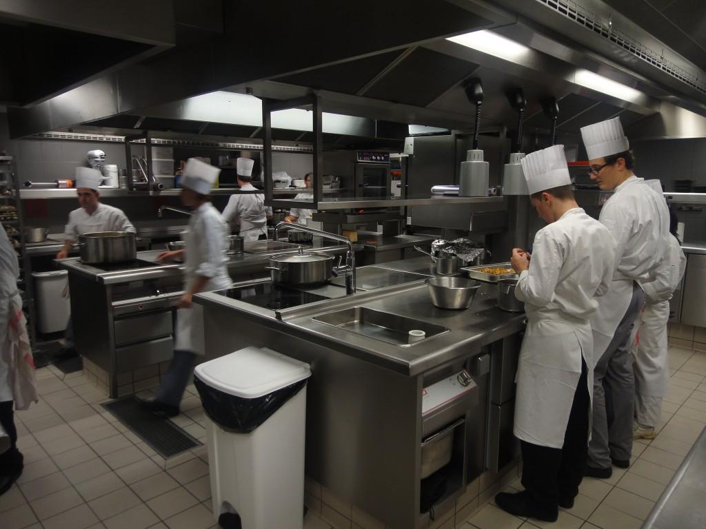 En cuisine chez Senderens © GP