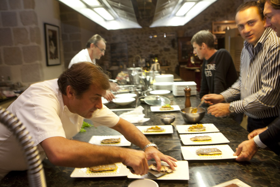 La table du couvent paroles de chef restaurant limoges - La table du bistrot limoges ...