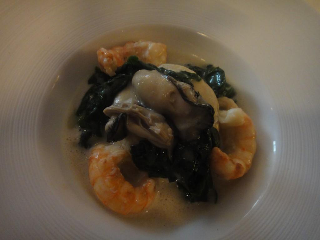 Mousseline d'huîtres © GP
