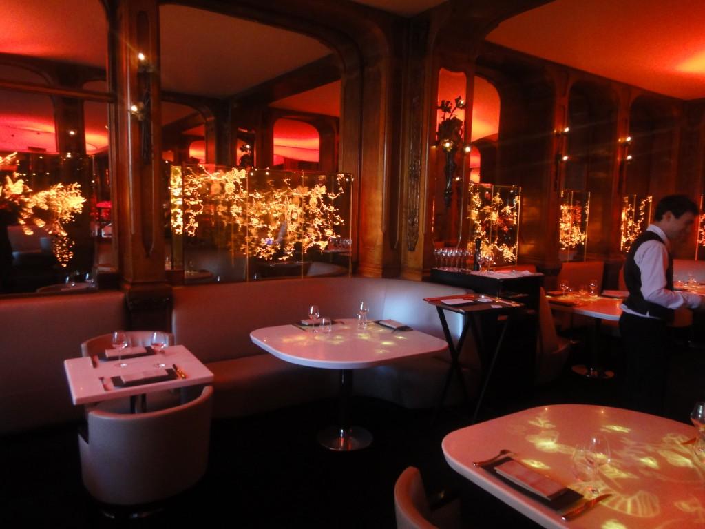 La salle manger de senderens non class for Restaurant la salle a manger paris