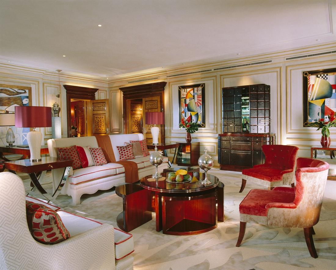 Imperial Suite Living Room Non Class