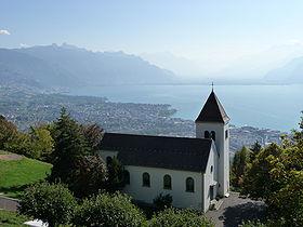 Eglise de Chardonne © DR
