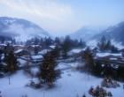 Gstaad à contre-jour