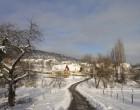 Mon village à l'heure d'hiver