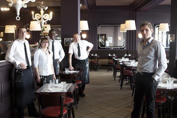 Emmanuel Stortz et son équipe © Maurice Rougemont