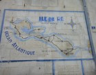 Carte murale de l'île de Ré © GP