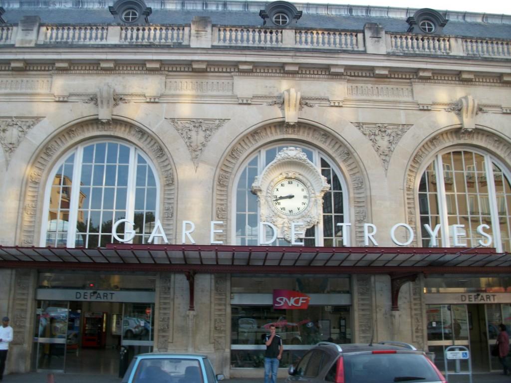 La Gare De Troyes