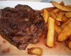 Onglet de black Angus avec ses frites © GP