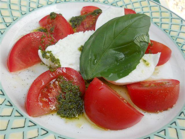 Tomate mozzarella © Alain Angenost