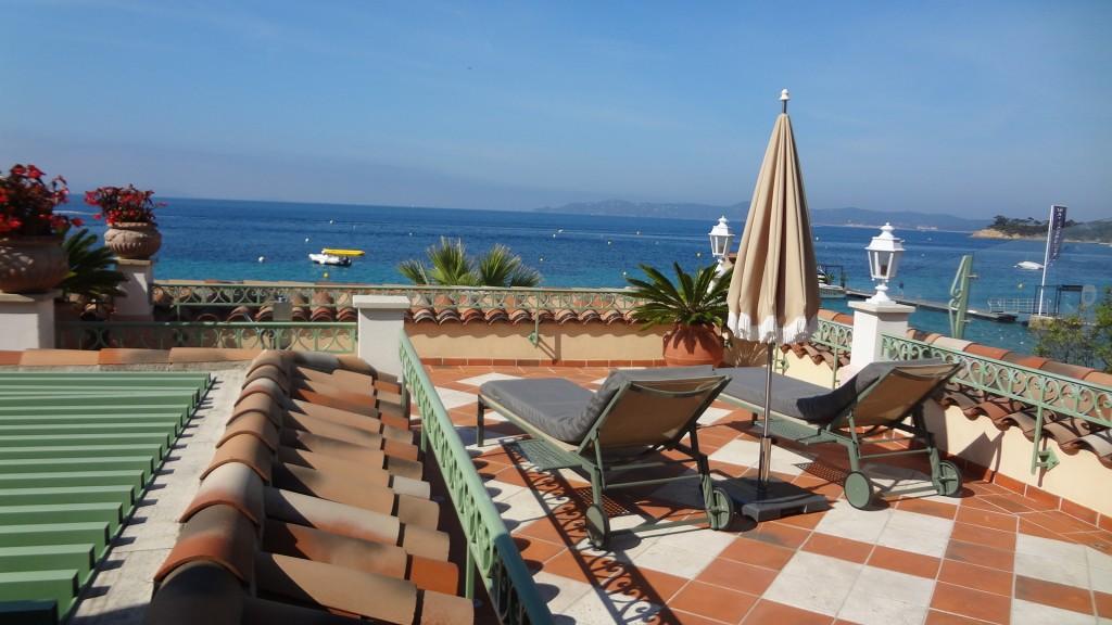 Balcon terrasse de la chambre 10 ©GP