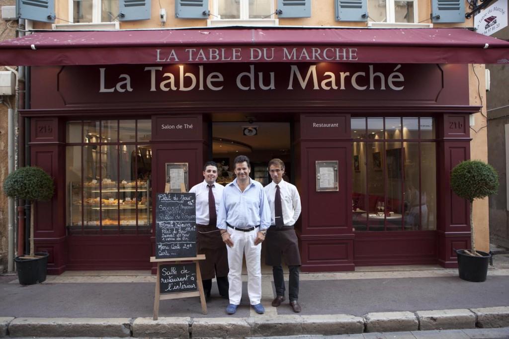 La table du march restaurant saint tropez traiteur - Restaurant la table du grand marche tours ...