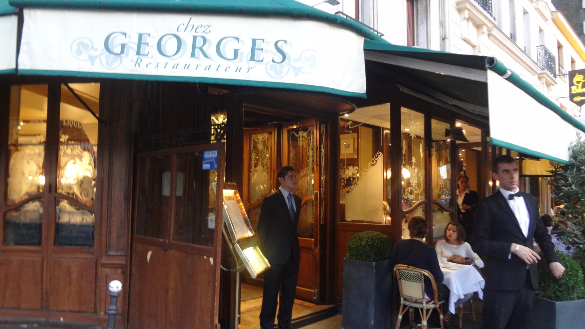 Gigot d agneau et flageolets le blog de gilles pudlowski les pieds dans le plat - Chez georges porte maillot ...