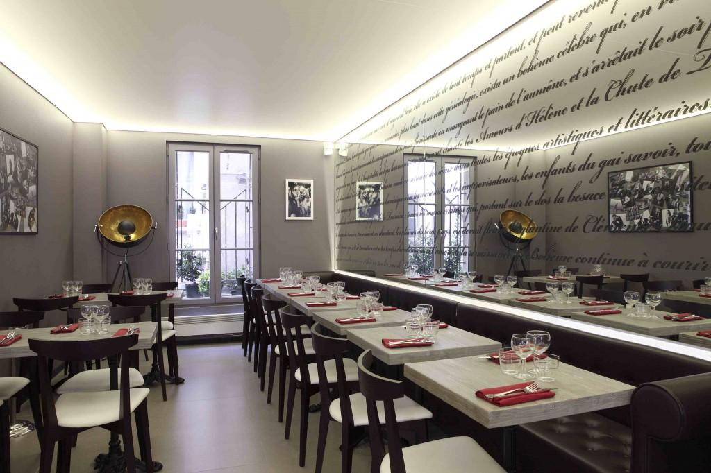 Le caf boh me restaurant paris 6e caf la boh me selon jean pierre paris 6e rendez vous for Salle a manger jean