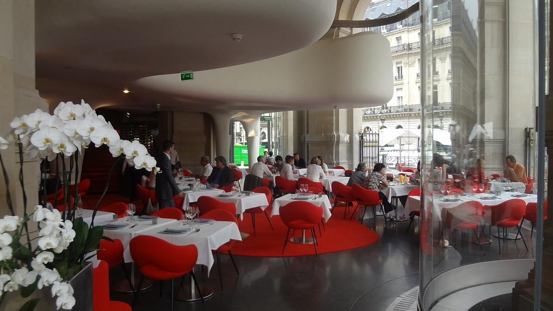 L 39 op ra restaurant au palais garnier restaurant paris 9e for Restaurant la salle a manger paris