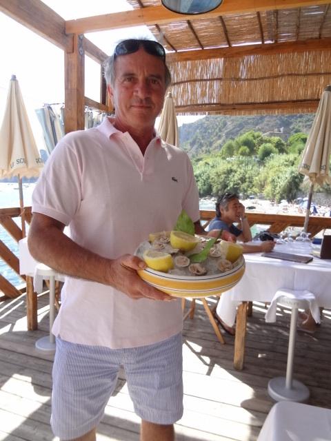 Peppino et ses « truffes de mer »
