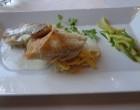 Sandre au foie gras et nouilles ©GP