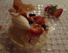Sorbet fromage blanc et fruits rouges ©GP