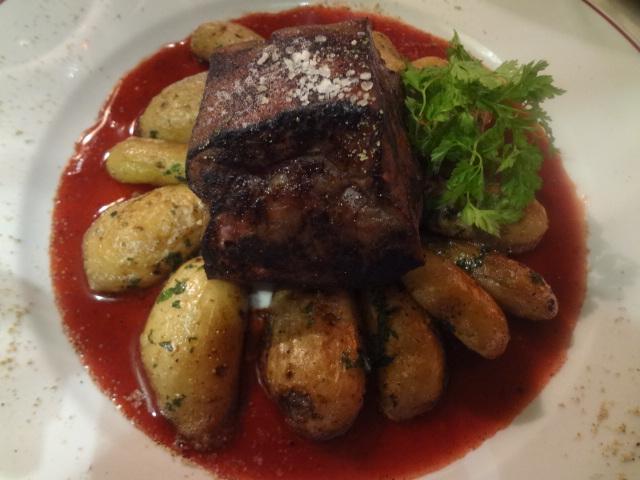 Pav de foie de veau sauce framboise - Le petit zinc rouen ...