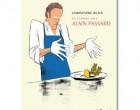 Alain Passard en cuisine et en héros de BD