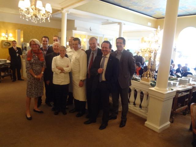 Les chefs de Provence et de Paris, avec Catherine Peré-Vergé © GP