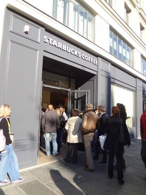 Caf Ef Bf Bd Starbuck En France