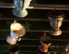 Les pots à feu au plafond ©Maurice Rougemont