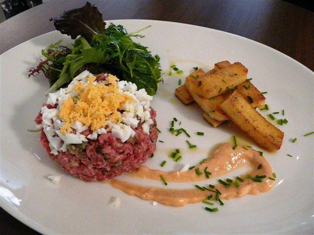 Le vingt4 restaurant nice le vingt4 nice le bon num ro de rolancy restaurants - Tartare de boeuf cyril lignac ...