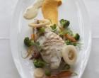 Turbot grillé mousseline aux légumes ©Maurice Rougemont