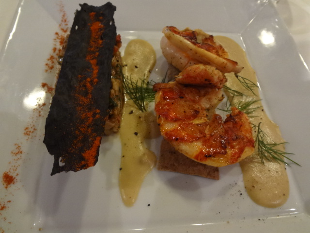 Homard grillé et tartare de topinambours © GP