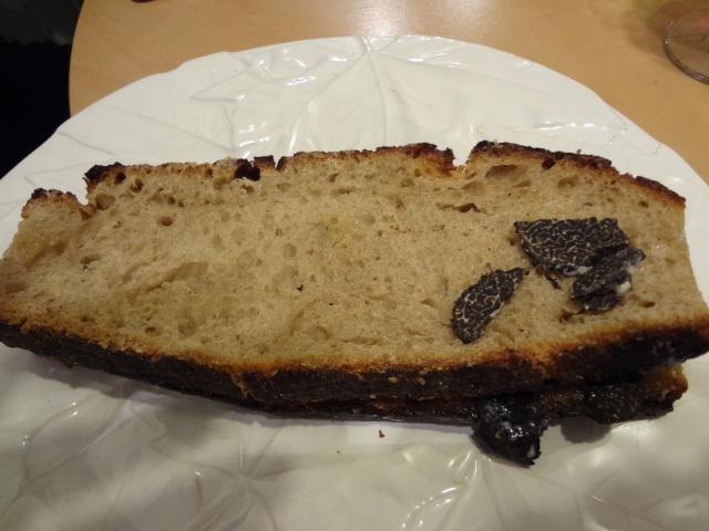 Le sandwich à la truffe fraîche © GP