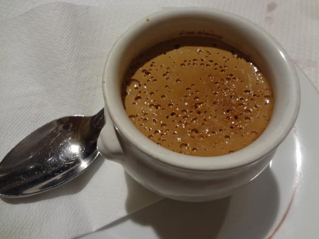 Pot de crème au café © GP
