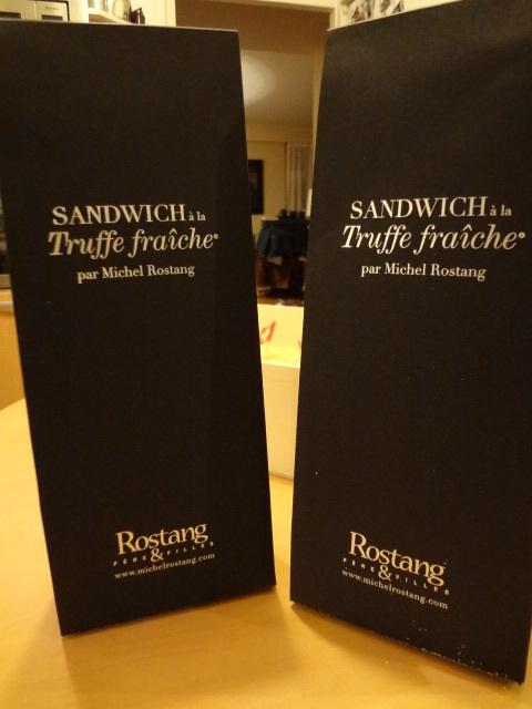 Sandwich signé Rostang © GP