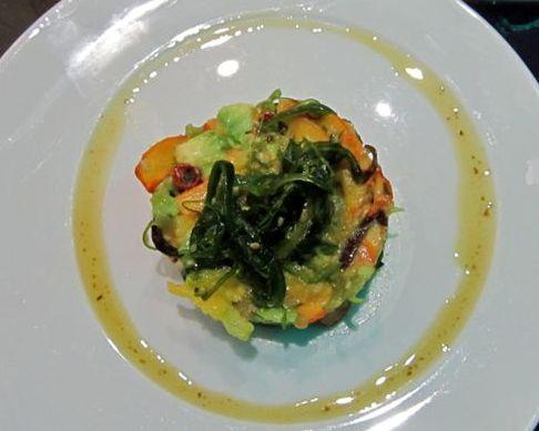 Salade de calamars à la japonaise © Alain Angenost