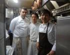 En cuisine avec Shimpeï Oïe (à droite) © GP