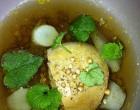 Foie gras au bouillon de légumes ©GP