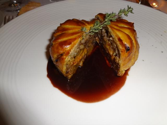Tourte de faisan au foie gras © GP