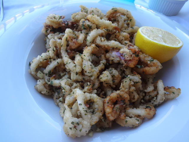 Calamars frits comme à St Tropez © GP