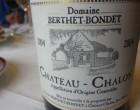 Château Chalon Berthet Bondet 2004 © GP