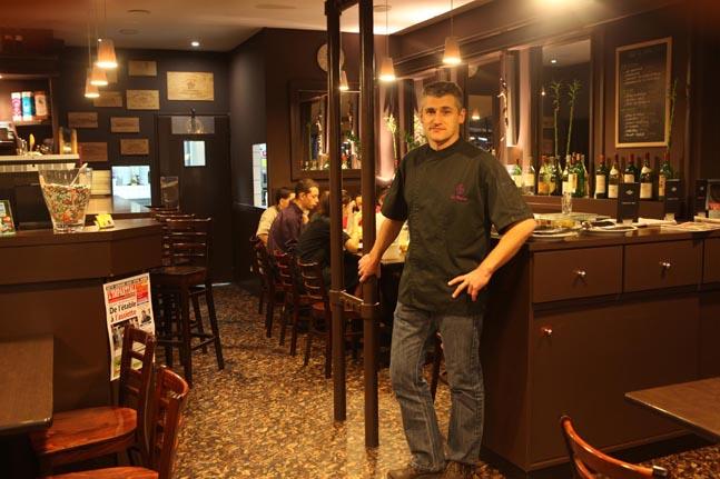 le bar vin restaurant romans le bistrot d eric restaurants. Black Bedroom Furniture Sets. Home Design Ideas