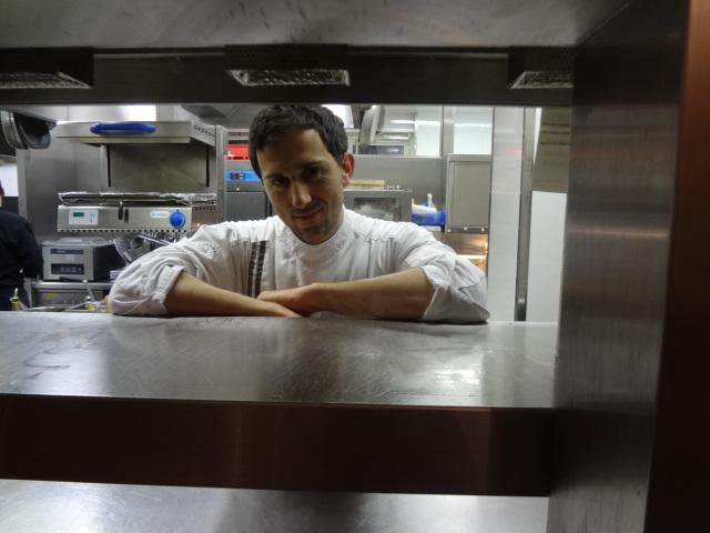 Frédéric Lefèvre en cuisine © GP
