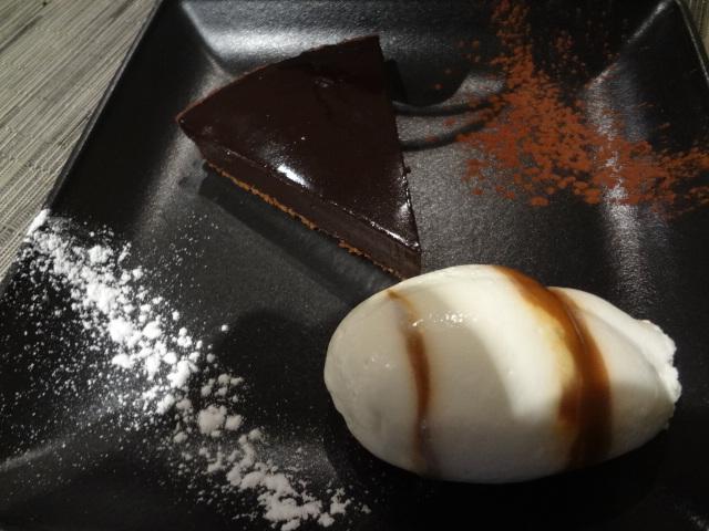 La fabuleuse tarte au chocolat © GP