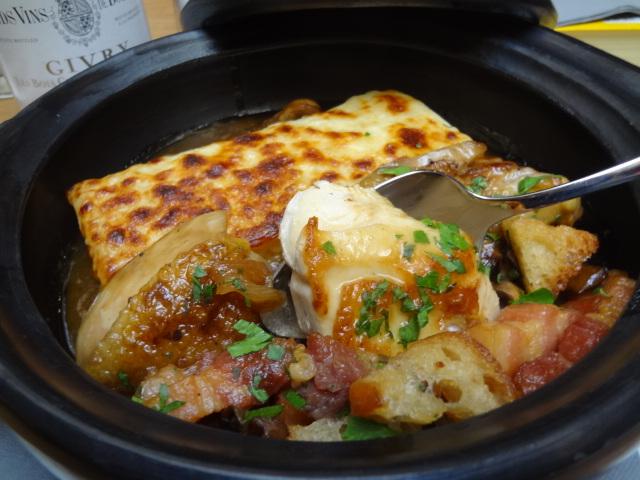 Poulet et gratin de macaronis © GP