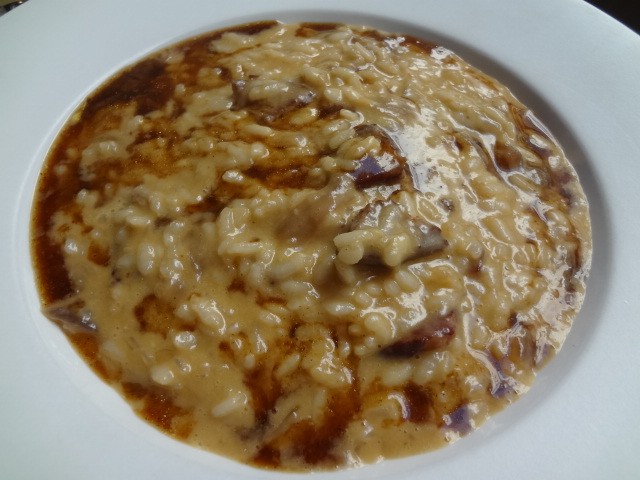 Risotto à l'oignon rouge © GP