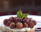 Tarte sablée aux fraises des bois ©Maurice Rougemont