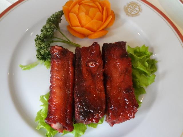 Travers de porc caramélisés © GP