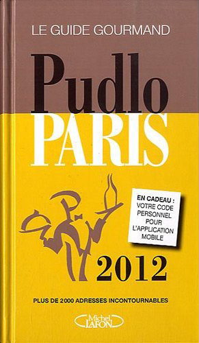 Pudlo Paris 2012